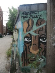 Respect the alley. Lincoln Square.