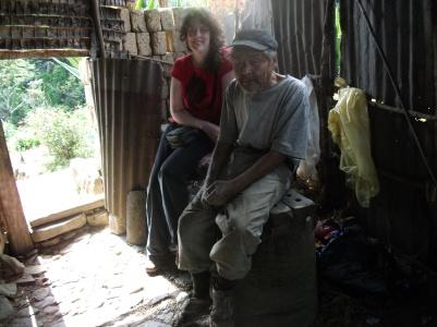 At Casa Sandillani, Bolivia.