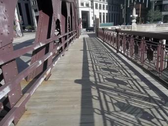 Franklin Street Bridge, Chicago.