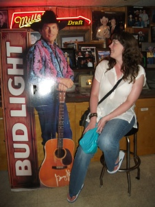 Meeting George Strait in the Broken Spoke.