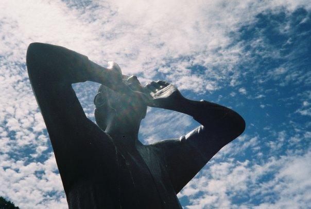 Statue in Perth, Australia.